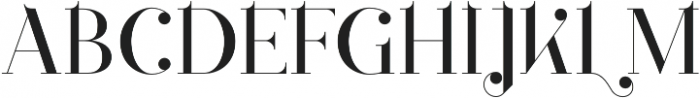 Loopkin Regular otf (400) Font UPPERCASE