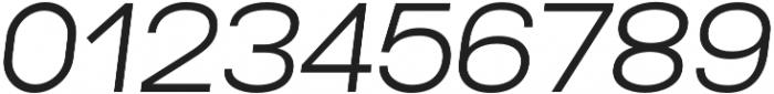 Lorano Light Italic otf (300) Font OTHER CHARS