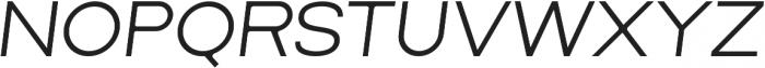 Lorano Light Italic otf (300) Font UPPERCASE