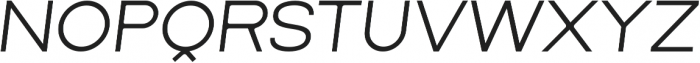 Lorano Light Italic otf (300) Font LOWERCASE