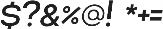 Lorano Medium Italic otf (500) Font OTHER CHARS