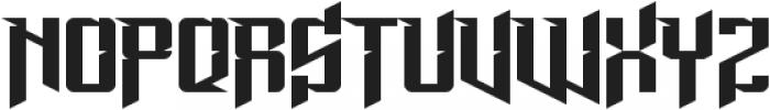 Lord Juusai Rises ttf (400) Font LOWERCASE