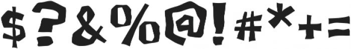 LordRat AOE otf (400) Font OTHER CHARS