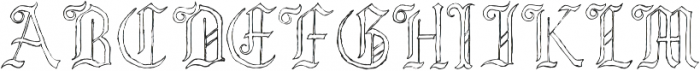 Lore Pandemonia Hollow ttf (400) Font UPPERCASE