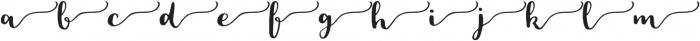 Loreal SWSH otf (400) Font LOWERCASE