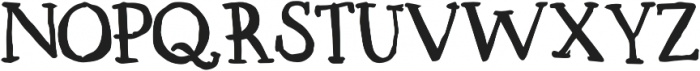 Lorem Serif otf (700) Font UPPERCASE