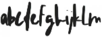 Lorena Regular ttf (400) Font LOWERCASE