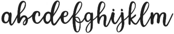 Lorena Script otf (400) Font LOWERCASE