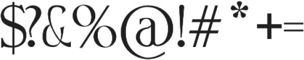 Loris Serif otf (400) Font OTHER CHARS