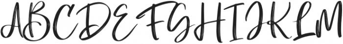 LosDoel Regular otf (400) Font UPPERCASE