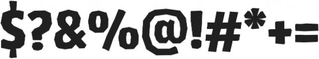 LosLana Niu Essential Black otf (900) Font OTHER CHARS