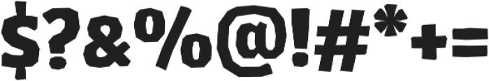 LosLana Niu SmallCaps Black otf (900) Font OTHER CHARS