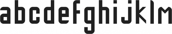 Lost Highway ttf (400) Font LOWERCASE