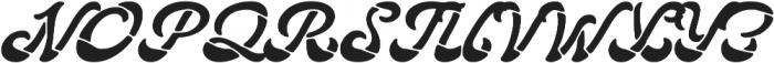 Lostamp Clean otf (400) Font UPPERCASE