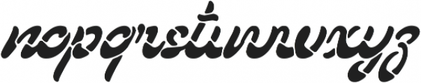 Lostamp Clean otf (400) Font LOWERCASE