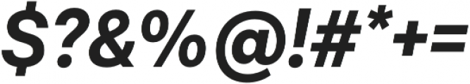 Lota Grotesque Alt 1 Bold It otf (700) Font OTHER CHARS