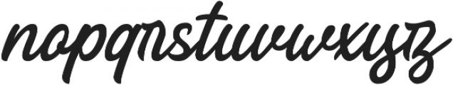 Lotterras Script otf (400) Font LOWERCASE