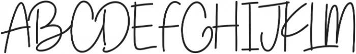 Lottus Script ttf (400) Font UPPERCASE