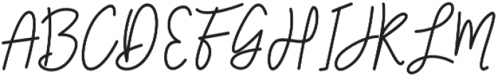 Louie otf (400) Font UPPERCASE