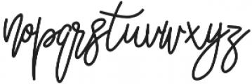 Louie otf (400) Font LOWERCASE