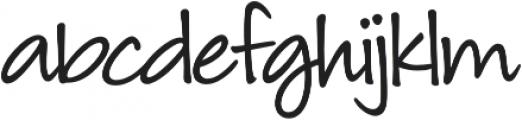 Louisiana otf (400) Font LOWERCASE