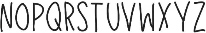 Louisville ttf (400) Font LOWERCASE