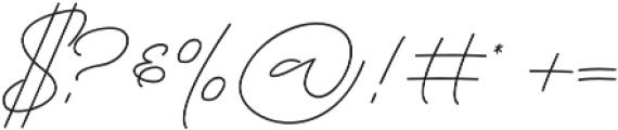 Lousitone otf (700) Font OTHER CHARS