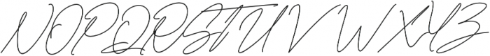 Lousitone otf (700) Font UPPERCASE