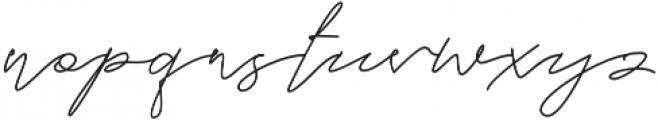 Lousitone otf (700) Font LOWERCASE