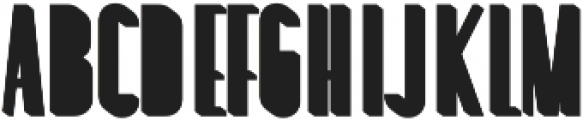 Louvre Extrude otf (400) Font LOWERCASE