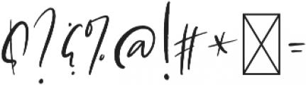 Love Always Alt Regular otf (400) Font OTHER CHARS