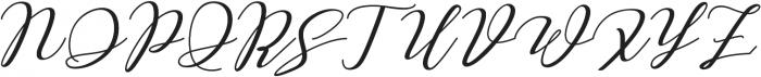Love Amsterdam Script ttf (400) Font UPPERCASE