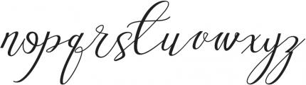 Love Amsterdam Script ttf (400) Font LOWERCASE