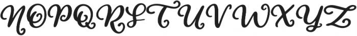 Love At First Sight Script Swash Alternates Swash Alternates otf (400) Font UPPERCASE