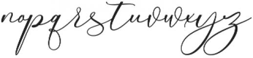 Love Fieldfare Regular otf (400) Font LOWERCASE