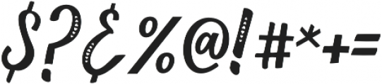 Love Heart Fill otf (400) Font OTHER CHARS