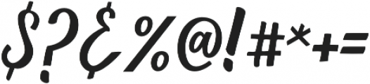 Love Heart otf (400) Font OTHER CHARS