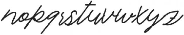 Love Hurts otf (400) Font LOWERCASE