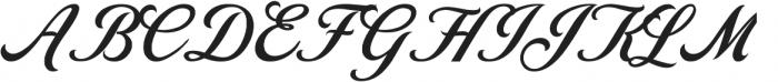 Love Letters ttf (400) Font UPPERCASE