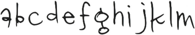 Love Notes Nyc Regular otf (400) Font LOWERCASE