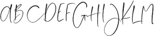 Love Notes Script ttf (400) Font UPPERCASE