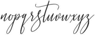 Love Rosnita otf (400) Font LOWERCASE