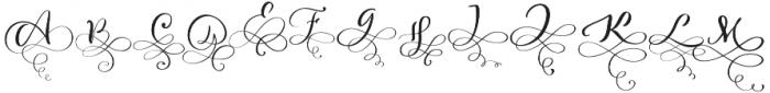 Love Story otf (400) Font LOWERCASE