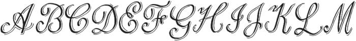 Love & Stuff ttf (400) Font UPPERCASE