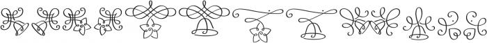 LoveChristmas Regular otf (400) Font UPPERCASE