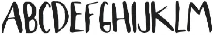 LoveLetter otf (400) Font UPPERCASE