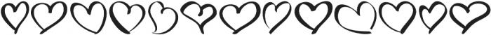 LoveType ttf (400) Font UPPERCASE