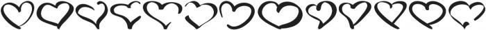 LoveType ttf (400) Font LOWERCASE