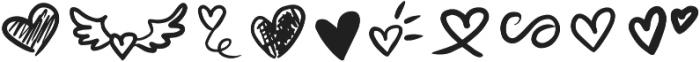 Lovea Script Doodle otf (400) Font OTHER CHARS