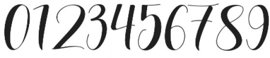 Lovea Script otf (400) Font OTHER CHARS